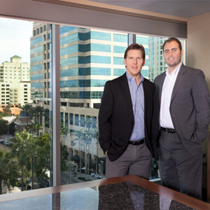 Mike Crissy and Patrick Conness of Stiles Realty