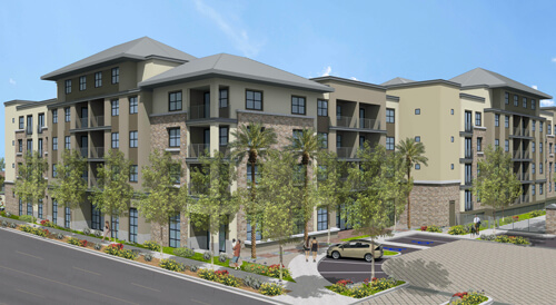 The upcoming Peak 16 luxury apartment community offers many amenities and an ideal location.