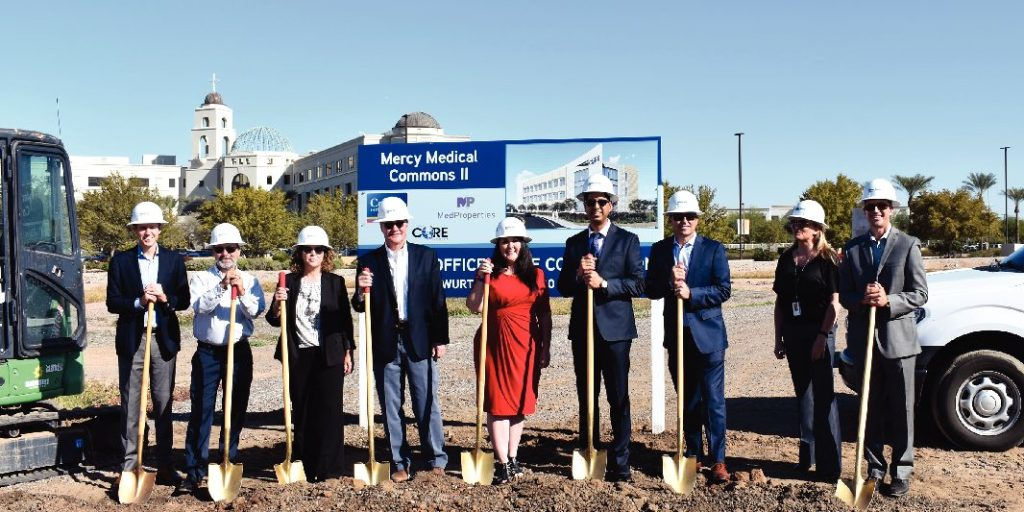 Mercy Medical Commons II Construction Begins