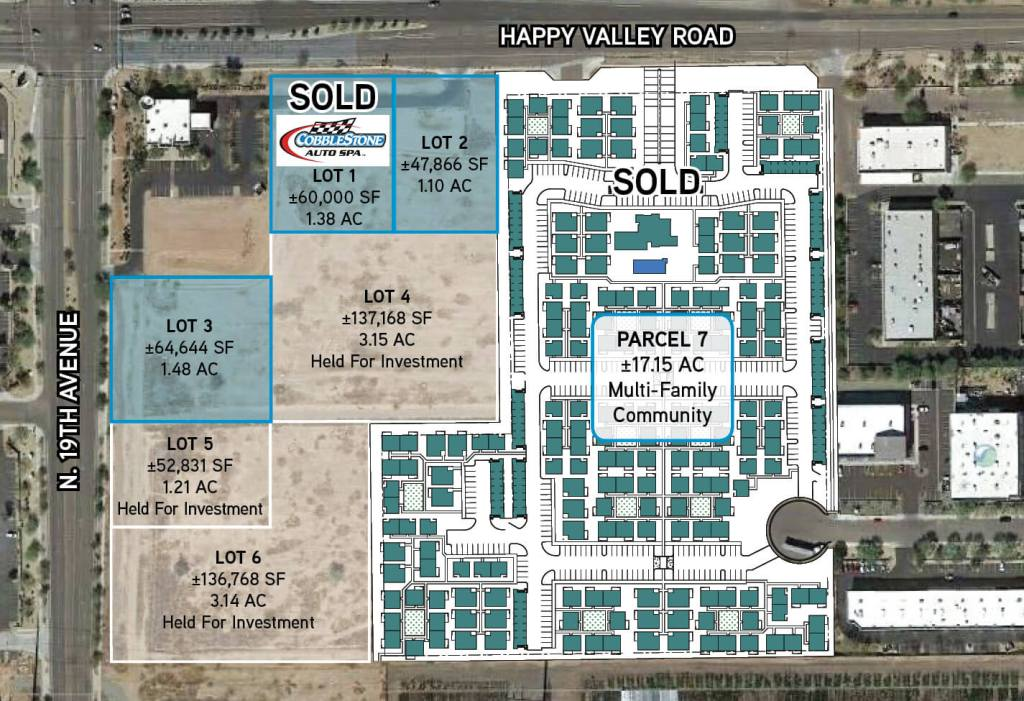 DAUM Commercial Completes Three Land Transactions for Total Volume of $20 Million in Deer Valley Submarket