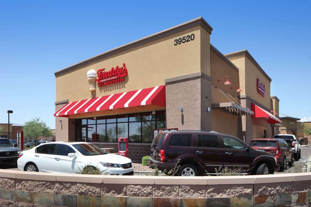 CBRE Arranges Sale of Six Single-Tenant Properties Leased to Freddy's Frozen Custard and Steakburgers in 60 Days