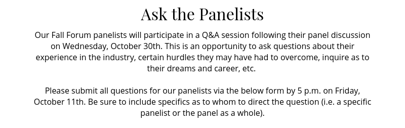 askthepanelists