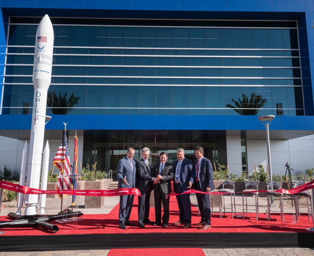 Allred, Willmeng Launch Northrop Grumman's New Chandler Campus