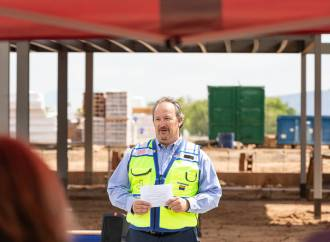 Willmeng/Fann Joint Venture Celebrates Topping Out of New Passenger Terminal at Prescott Regional Airport Ernest A. Love Field