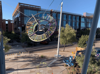 SkySong Now Home to New, Dramatic Piece of Public Art