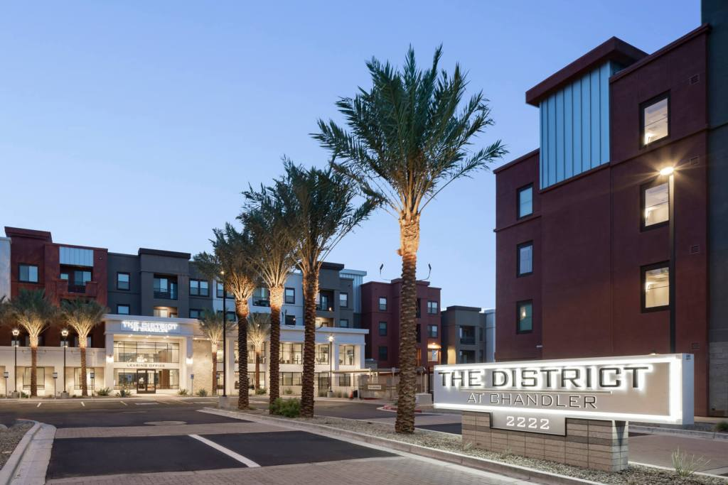 Joint Venture of PCCP, LLC and F&B Capital Acquires District at Chandler