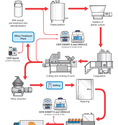the natural cheese flow chart gives precise details on the production process of natural cheese as well as an explanation of where cem process products can  [ 1700 x 2200 Pixel ]