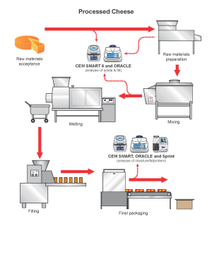 Processed Cheese Production Process