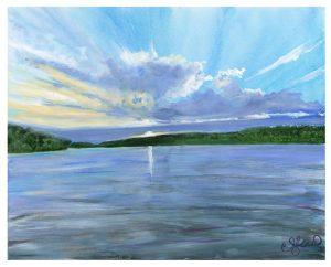 Canada Series I - Sunset I ©CEMarqua