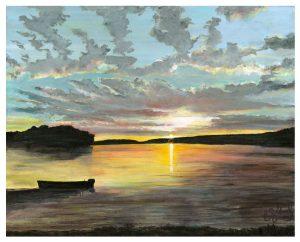 Canada Series I - Sunset II ©CEMarqua