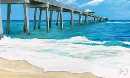 Florida Series I - Juno Pier ©CEMarqua
