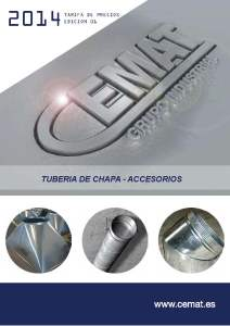 Tarifa CEMAT Almacn materiales construccin GIJONASTURIAS Grupo Industrial