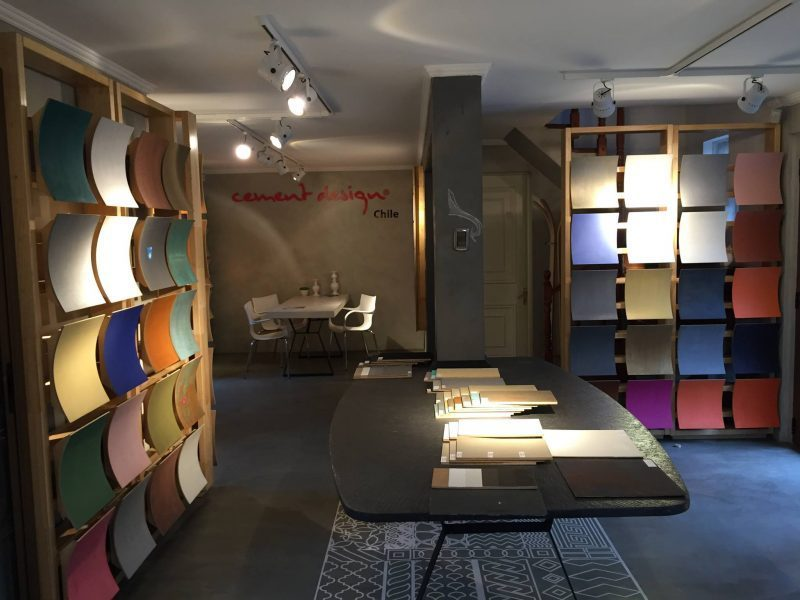 Cement Design Showroom Chile