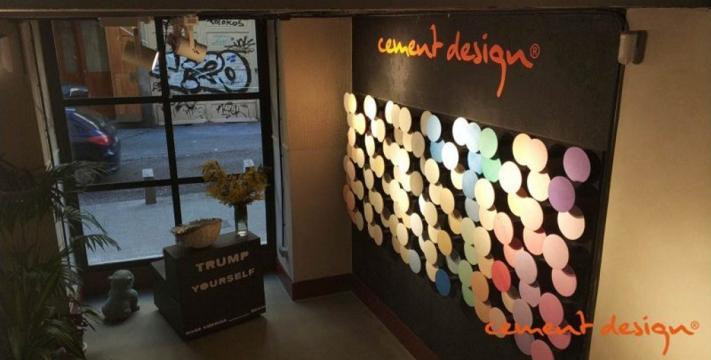 Cement Design Showroom La Latina Cava Baja