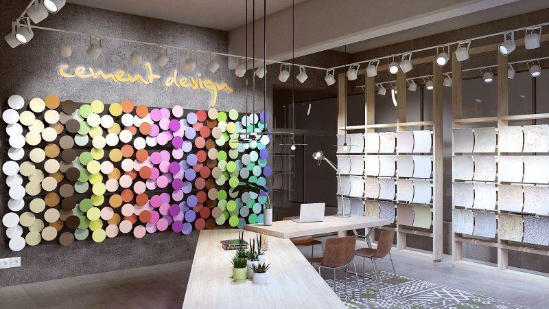 Cement Design Showroom Republica Dominicana
