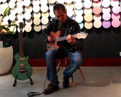 Pamito Guitars Telemadrid Cement Design