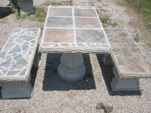 Patio Table Sets - Cement Barn Manufacturers Of