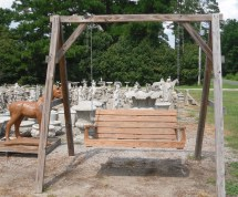 Outdoor Wooden Furniture - Cement Barn Manufacturers