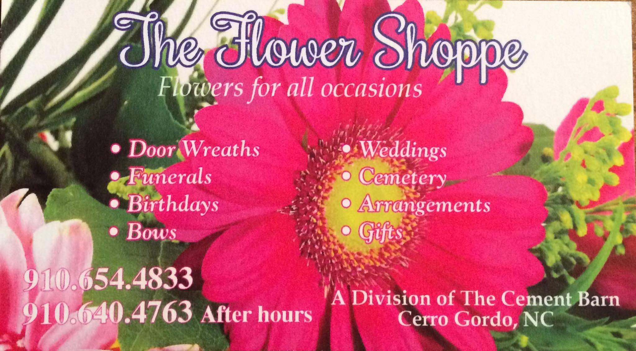 The Flower Shoppe Custom Florist