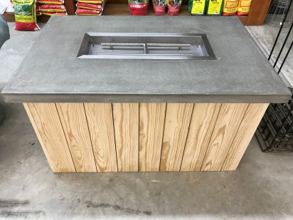 LP Gas Fire Table
