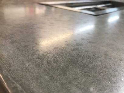 Polished Cement Top
