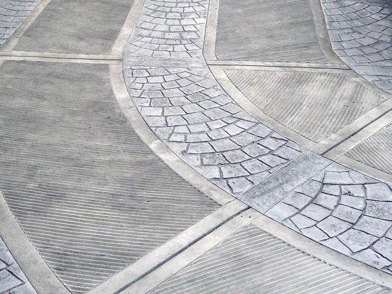Cemento stampato per pavimenti  Cementi Creativi