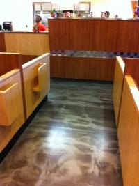 Kentwood MI Custom Reflector Epoxy Restaurant Flooring 12