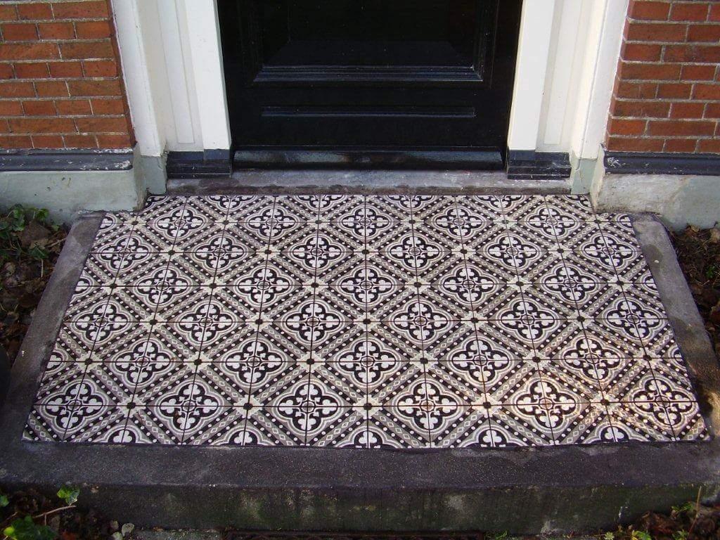 Castelo Cementtegls op balkon of stoep