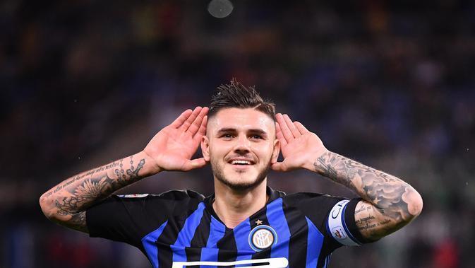 Bertahan di Inter Milan, Mauro Icardi Membuat Real Madrid Mengigit Jari