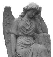 Fairmount cemetery angel