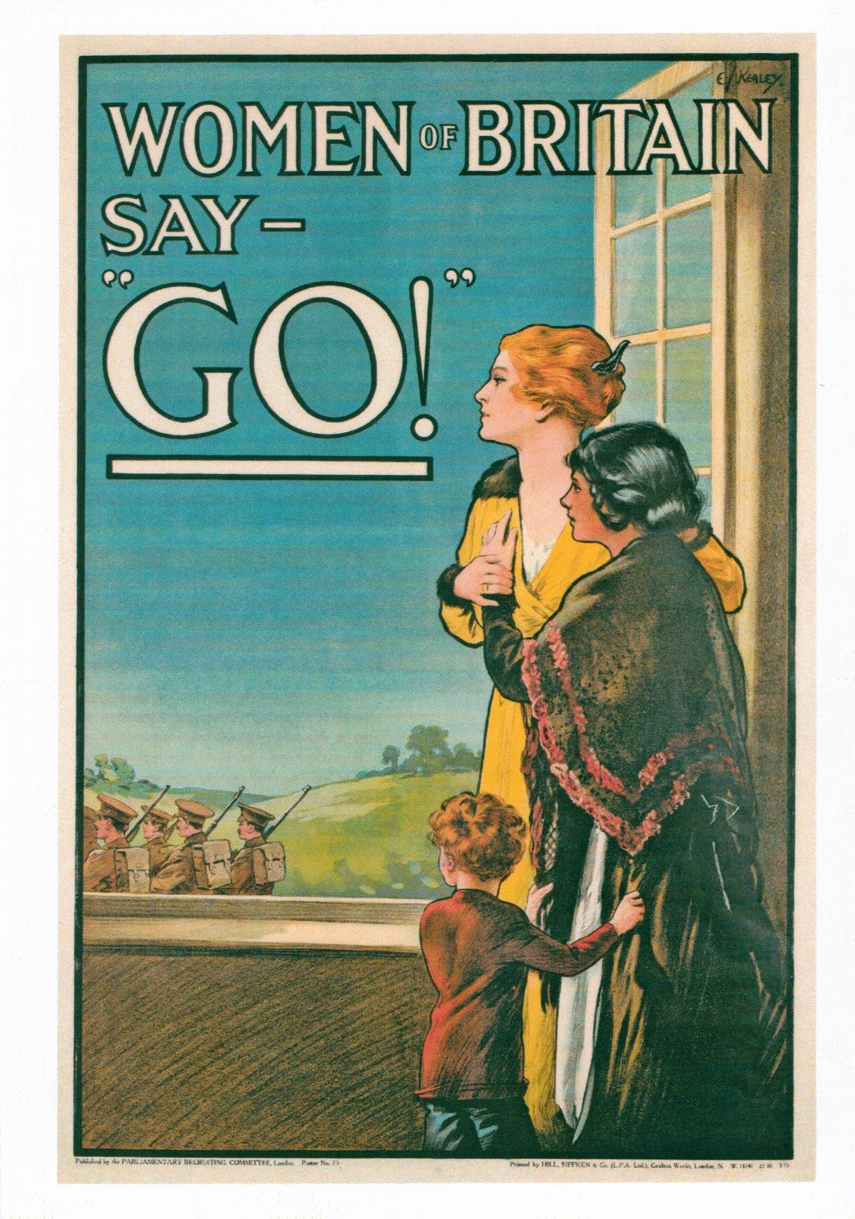 Propaganda Posters Of Ww1 Cemetery Club