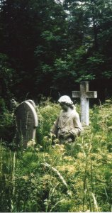 Highgate Cemetery in May