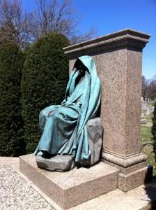 The Adams Memorial, by Augustus Saint-Gaudens