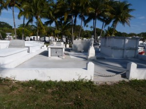 View of the Key West Cemetery photographed by Kathleen Rhoads.