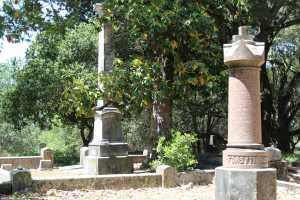 View of the Santa Rosa Rural Cemetery