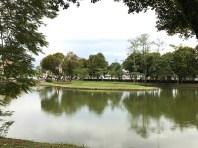 Tasik Y lake in a frame