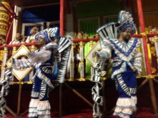 Detalhe da quarta alegoria da Dragões da Real no Desfile das Campeãs (2017) - Foto de Cassius S. Abreu