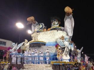 Quinta alegoria do Rosas de Ouro no Desfile das Campeãs (2017) - Foto de Cassius S. Abreu