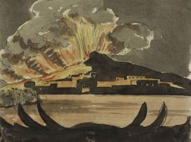 J. W. Goethe: Pohled na Vesuv (1787)