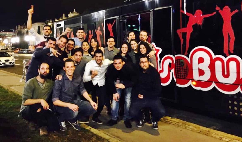Cena con DiscoBus en Barcelona | Cenas Barcelona