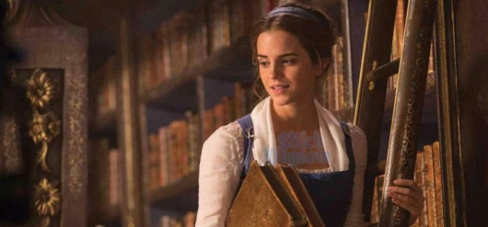 Emma Watson na versão live-action de A Bela e a Fera (2017), da Disney