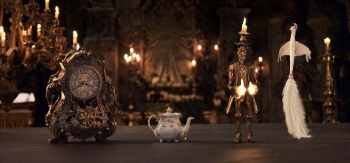 Versão live-action de A Bela e a Fera (2017), da Disney