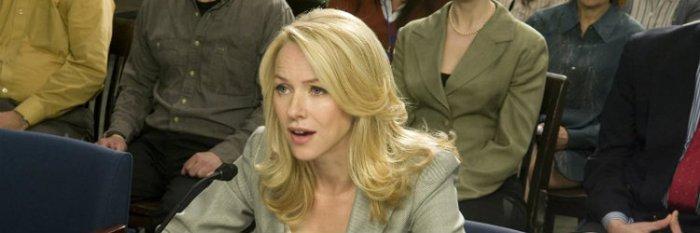 Para falar das espiãs da CIA, Naomi Watts em Jogos do Poder (Fair Game, 2010)