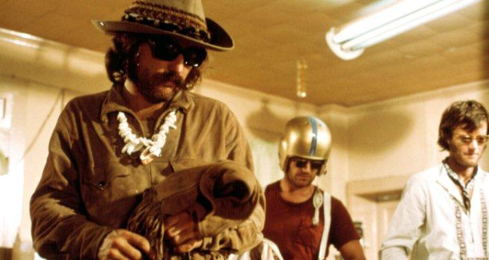 Dennis Hopper, Jack Nicholson e Peter Fonda em Sem Destino (1969)