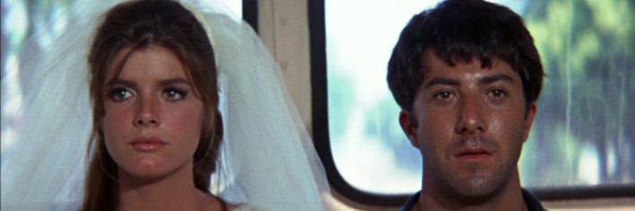 Katharine Ross em A Primeira Noite de um Homem, uma das noivas