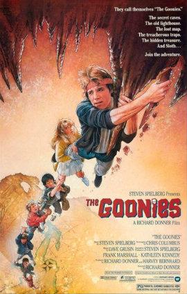 Poster internacional de Os Goonies