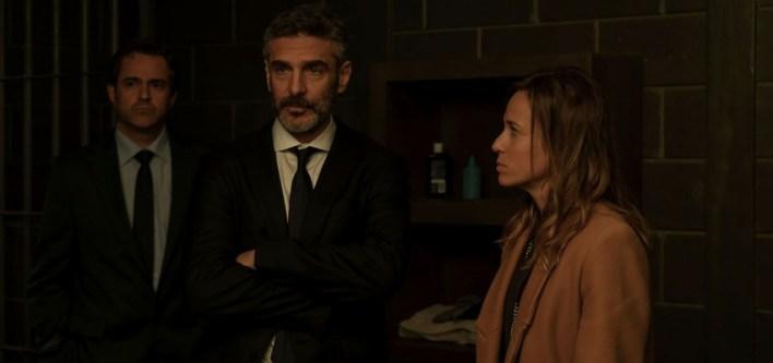 Marta Etura e Leonardo Sbaraglia em Oferenda à Tempestade