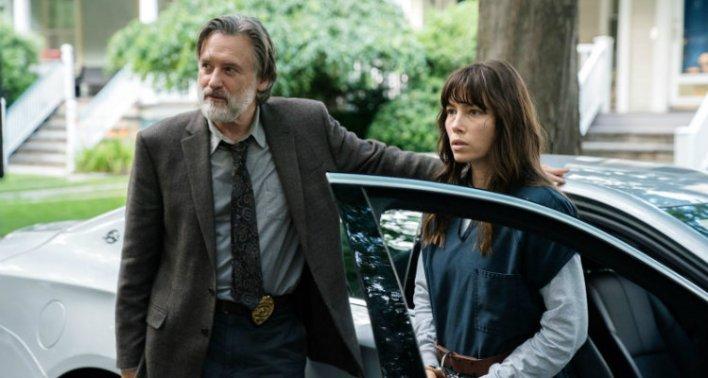 Bill Pullman e Jessica Biel em The Sinner (Primeira Temporada)
