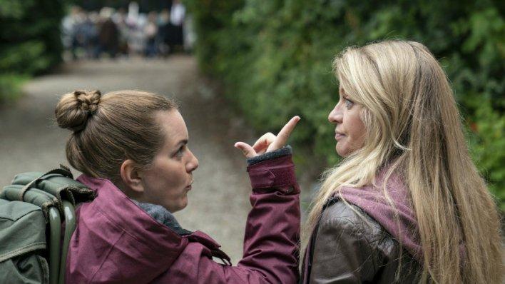 Mille Dinesen e Lise Baastrup na série Rita