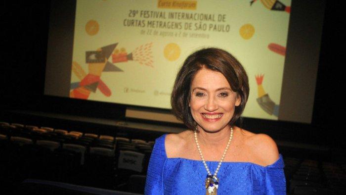 Zita Carvalhosa, criadora e diretora do Curta Kinoforum